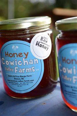Cowichan honey store